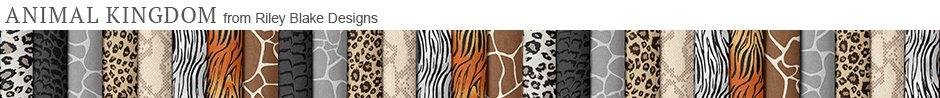 Animal Kingdom from Riley Blake Designs