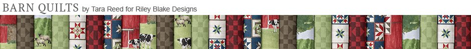 Barn Quilts by Tara Reed for Riley Blake Designs