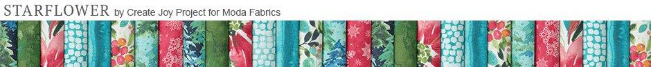 Starflower Christmas by Create Joy Project for Moda Fabrics