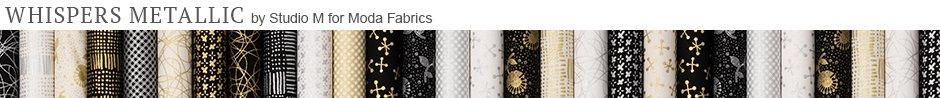 Whispers Metallic by Studio M for Moda Fabrics