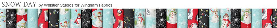 Snow Day by Whistler Studios for Windham Fabrics