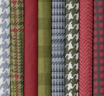 Yuletide Gatherings Flannel