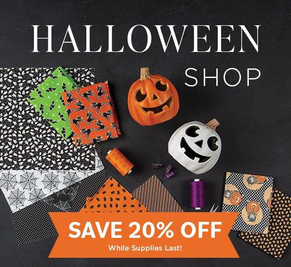 Halloween and Fall Fabric
