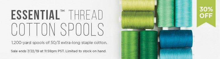 Essential Thread Cotton Spools