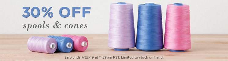 Thread Spool and Cone Sale