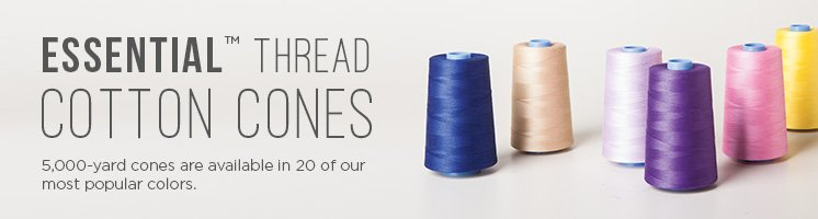Essential Thread Cotton Cones