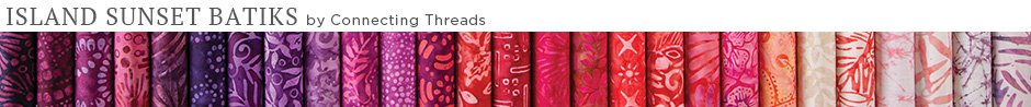 Island Sunset Batiks Fabric Collection