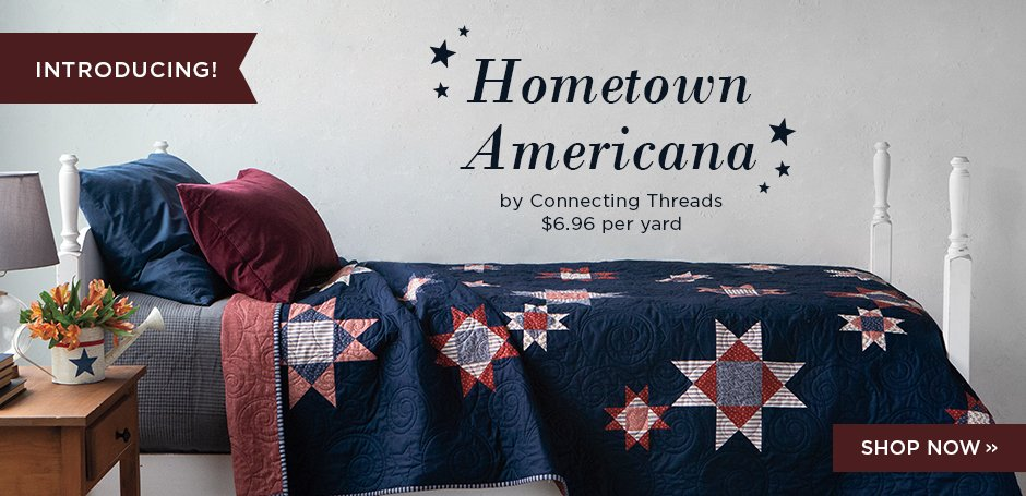 Hometown Americana Fabric Collection