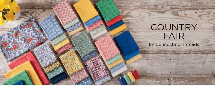 Country Fair Fabric Collection Samplers