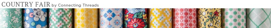 Country Fair Fabric Collection Kit Banner