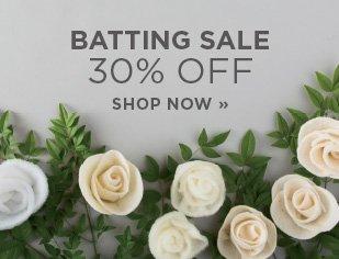 Batting Sale