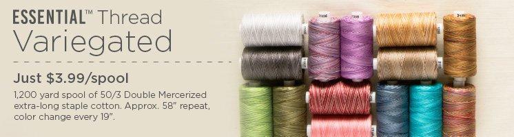 Essential Cotton Variegated Thread