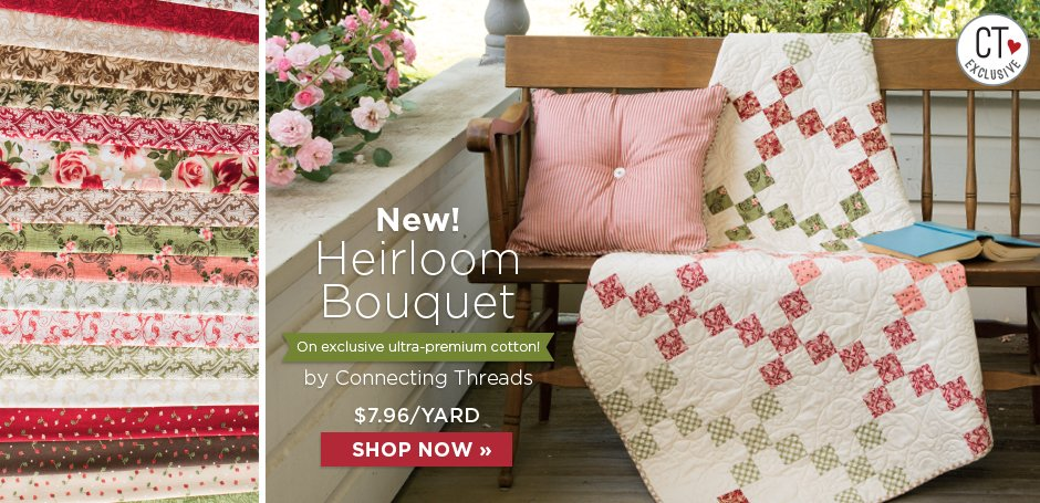 Heirloom Bouquet Fabric Collection