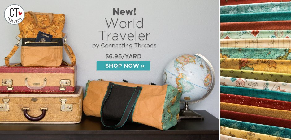 World Traveler Fabric Collection