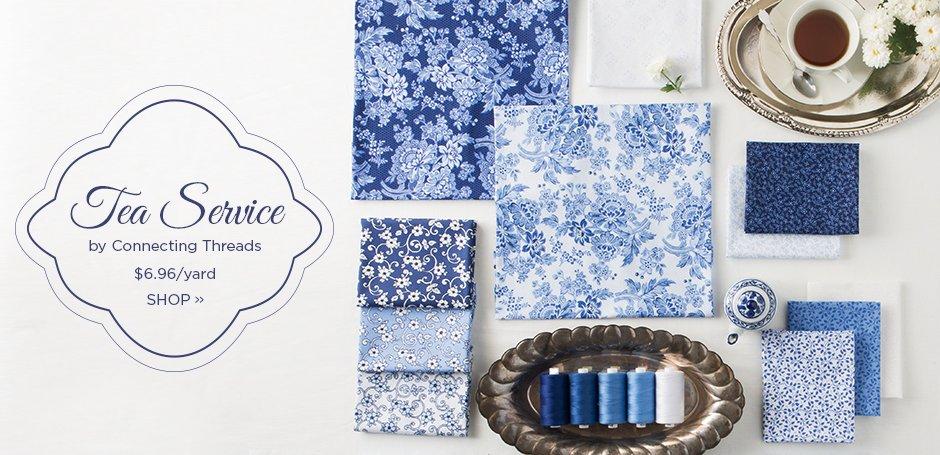 Tea Service Fabric Collection