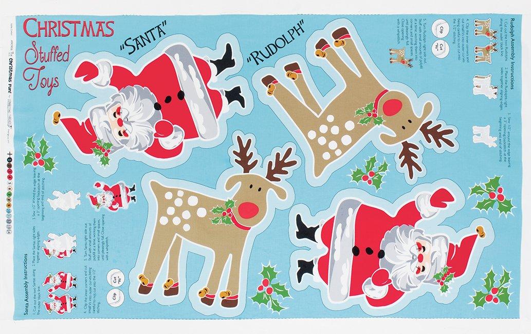 Christmas Stuffed Toys Panel Connectingthreads Com