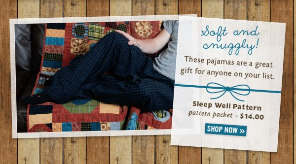 Sleep Well Pajama Pattern