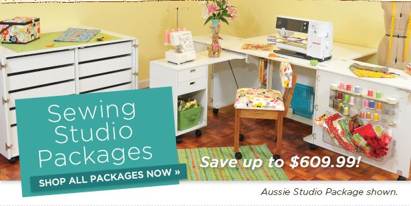 Sewing Studio Packages