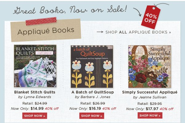 Applique Books