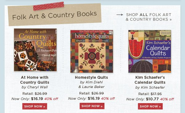 Folk Art and Country Books