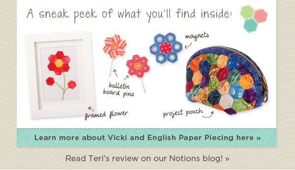 Learn More About Vicki and English Paper Piecing
