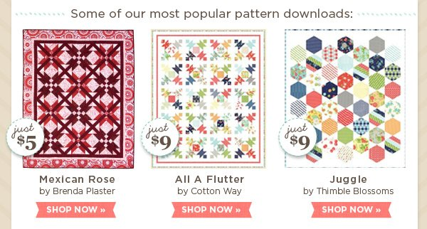 Most Popular Pattern Downloads