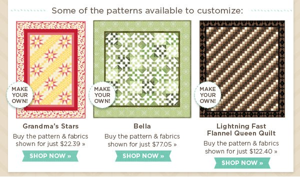 Customizable Patterns