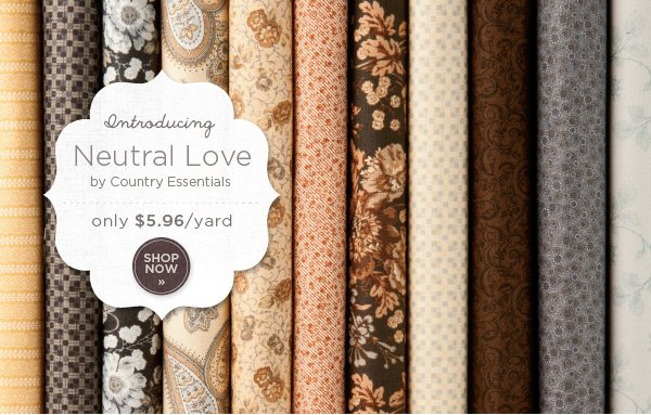 Introducing Neutral Love - by Country Essentials
