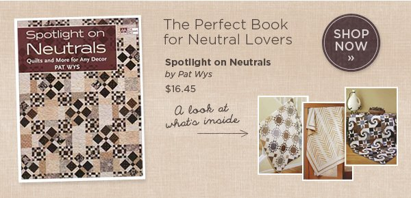 The Perfect book for Neutral Lovers