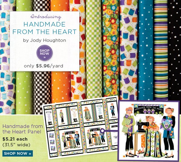 Introducing Handmade from the Heart by Jody Houghton
