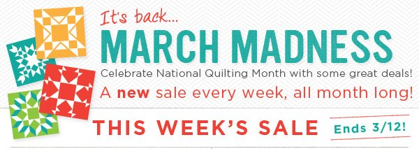 March Madness Sale is Back!