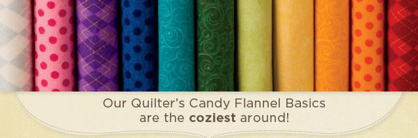Quilter's Candy Flannel Basics