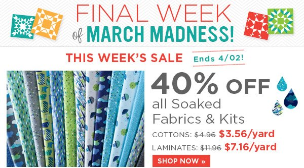 Final Week of March Madness!