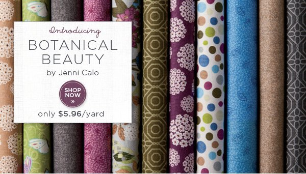 Introducing Botanical Beauty by Jenni Calo