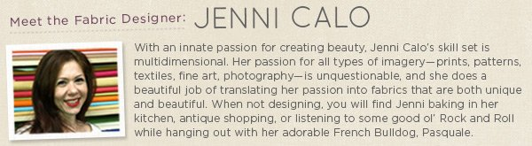 Meet the Fabric Designer Jenni Calo