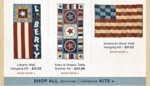 More Patriotic Kits
