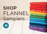 Quilter's Candy Flannel Samplers