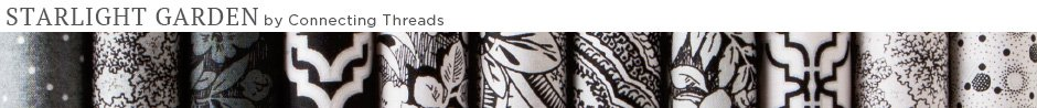 Starlight Garden Quilt Fabric