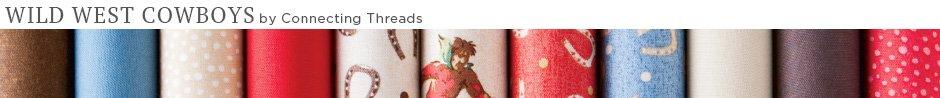 Wild West Cowboys Quilt Fabric