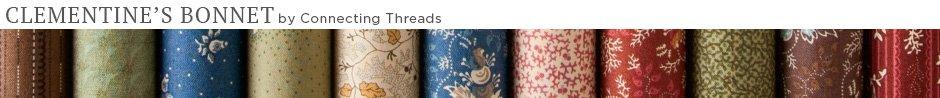 Clementine's Bonnet Quilt Fabric
