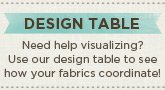 Quilting Fabric Design Table