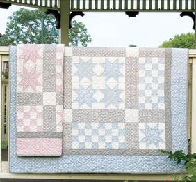 Baby Quilt Patterns.Ritzy Bitsy Babies Quilt Pattern Download Connectingthreads Com
