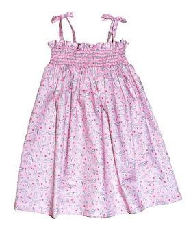 Toddler S Shirred Dress Pattern Download Connectingthreads Com