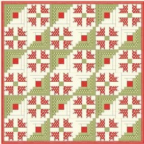 Cabin Christmas Quilt Pattern Download Connectingthreads Com