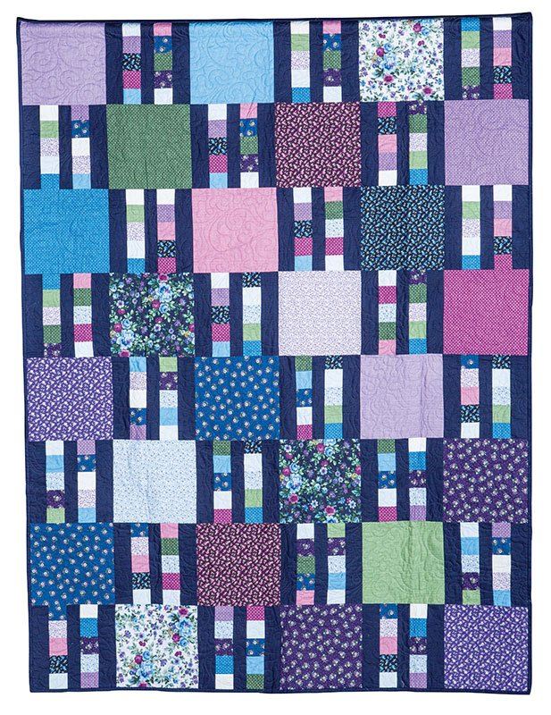 Picket Fence Quilt Kit