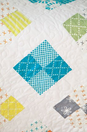 Just Four Fun Quilt Pattern Download | ConnectingThreads com