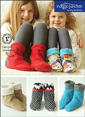 Sleep Time Slippers Pattern Download