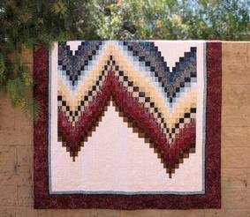 No-Measure Bargello Quilt Pattern Download
