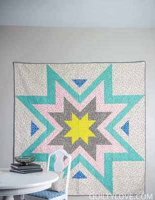 Expanding Stars Quilt Pattern Download Connectingthreads Com