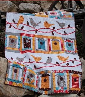 Free as a Bird Quilt Pattern Download | ConnectingThreads com